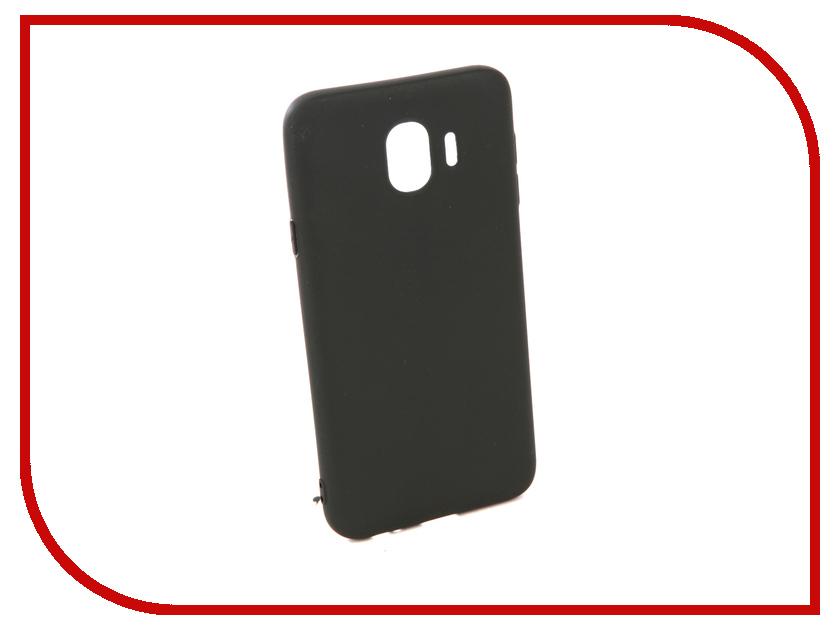Аксессуар Чехол для Samsung Galaxy J4 2018 Neypo Soft Matte Silicone Black NST4462 аксессуар чехол samsung j3 2017 j330f zibelino clear view black zcv sam j330 blk