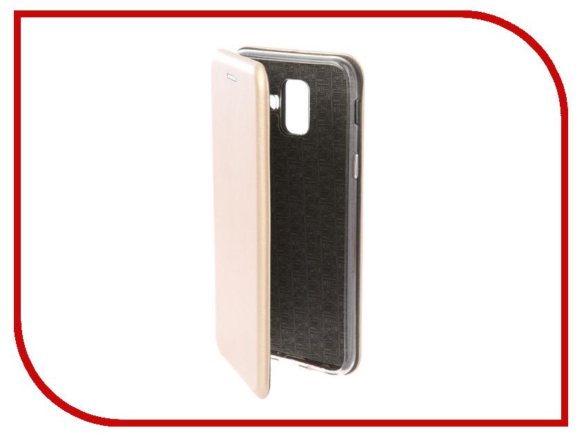 Купить Аксессуар Чехол для Samsung Galaxy A6 2018 Neypo Premium Gold NSB4520