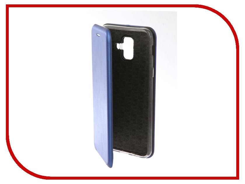 Аксессуар Чехол для Samsung Galaxy A6 2018 Neypo Premium Blue NSB4522  - купить со скидкой