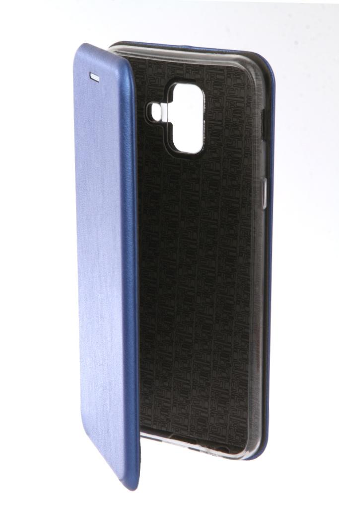 Аксессуар Чехол Neypo для Samsung Galaxy A6 2018 Premium Blue NSB4522 аксессуар чехол neypo для samsung galaxy j4 plus 2018 premium blue nsb5904