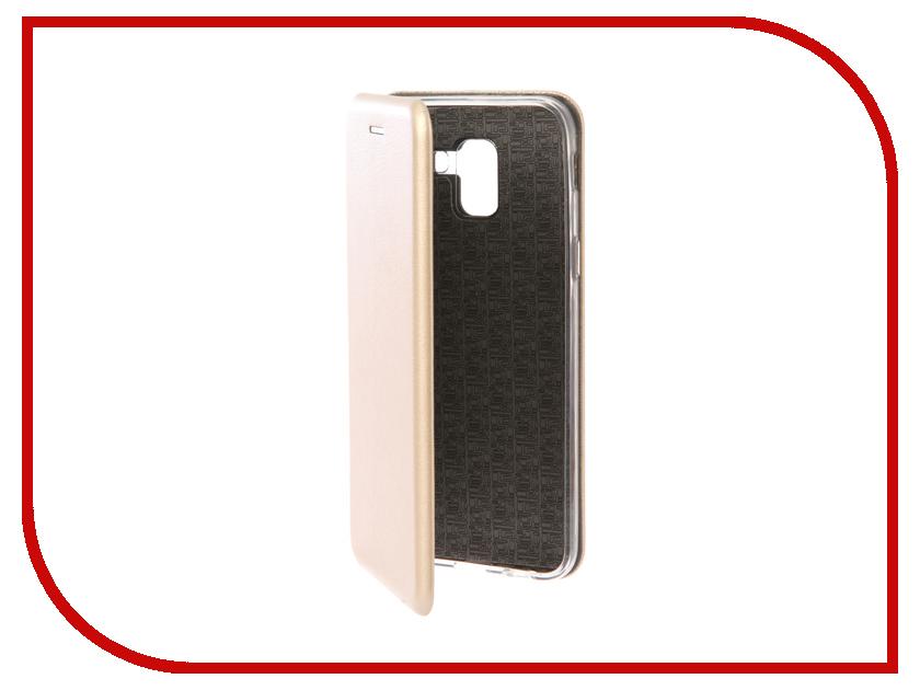 Купить Аксессуар Чехол для Samsung Galaxy J6 2018 Neypo Premium Gold NSB4190