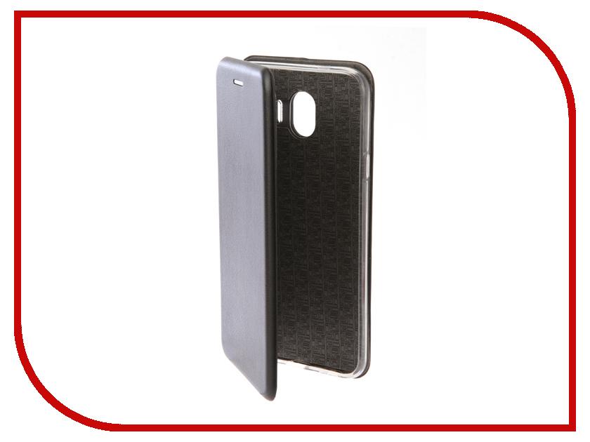 Аксессуар Чехол для Samsung Galaxy J4 2018 Neypo Premium Black NSB4188 аксессуар чехол samsung j3 2017 j330f zibelino clear view black zcv sam j330 blk