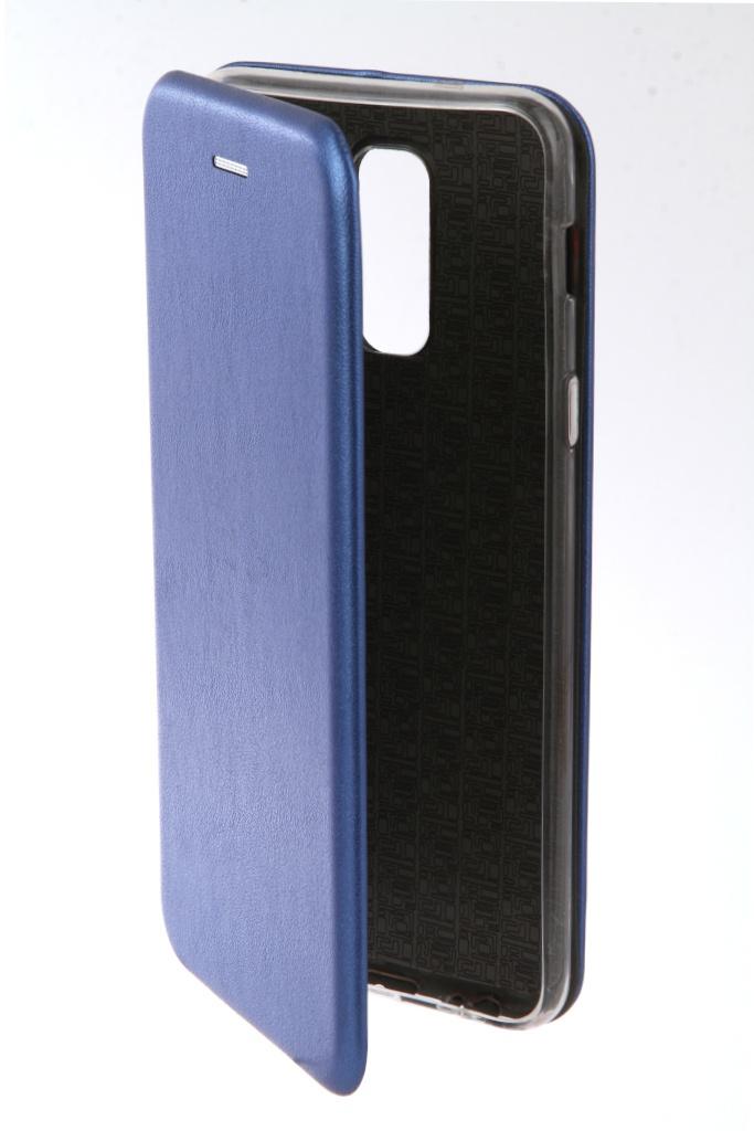 Аксессуар Чехол Neypo для Samsung Galaxy A6 Plus 2018 Premium Blue NSB4526 аксессуар чехол для samsung galaxy a6 plus 2018 neypo soft matte red nst4632