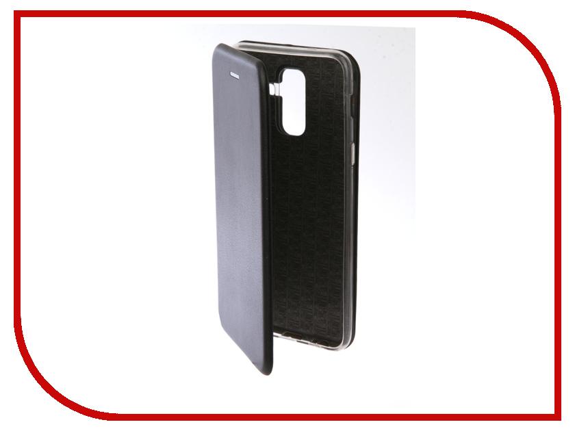 Аксессуар Чехол для Samsung Galaxy A6 Plus 2018 Neypo Premium Black NSB4527 аксессуар чехол для samsung galaxy a6 plus ibox crystal silicone transparent