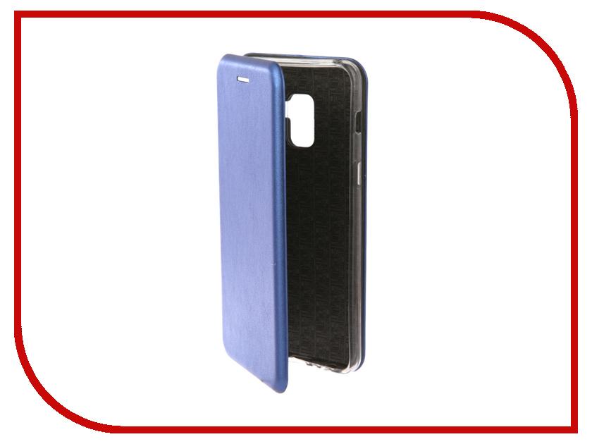 Аксессуар Чехол для Samsung Galaxy A8 2018 Neypo Premium Blue NSB4695 аксессуар чехол для samsung a8 2018 a530 zibelino clear view blue zcv sam a530 blu