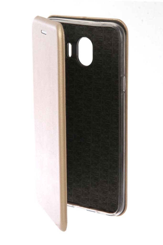Аксессуар Чехол Neypo для Samsung Galaxy J4 2018 Premium Gold NSB4189 аксессуар чехол neypo для samsung galaxy j4 plus 2018 premium blue nsb5904