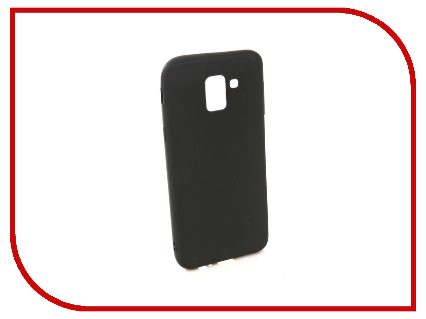 Аксессуар Чехол для Samsung Galaxy J6 2018 Neypo Soft Matte Silicone Black NST4463 цена