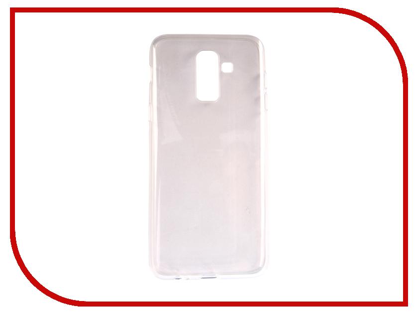 Аксессуар Чехол для Samsung Galaxy J8 2018 Neypo Silicone Transparent NST4704 аксессуар чехол для samsung galaxy j8 2018 neypo soft matte silicone black nst4703