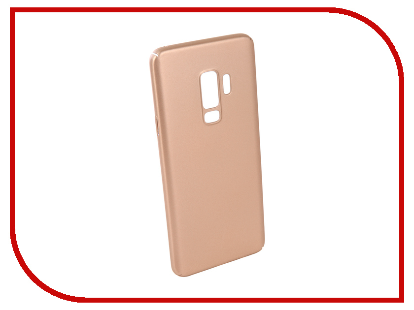 Аксессуар Чехол для Samsung Galaxy S9 Plus Neypo Soft Touch Gold ST3775 аксессуар чехол для samsung galaxy a5 2017 neypo soft matte silicone black nst0214