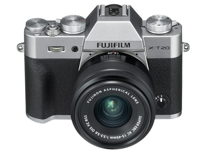 Фотоаппарат Fujifilm X-T20 Kit 15-45mm XC Silver t20 20