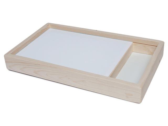 Планшет для рисования песком SandStol 30x40cm с отсеком Дерево П-3 планшет