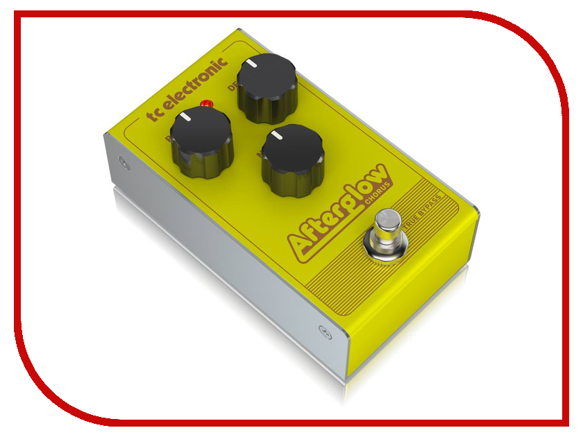 Педаль TC Electronic Afterglow Chorus tc electronic dark matter distortion