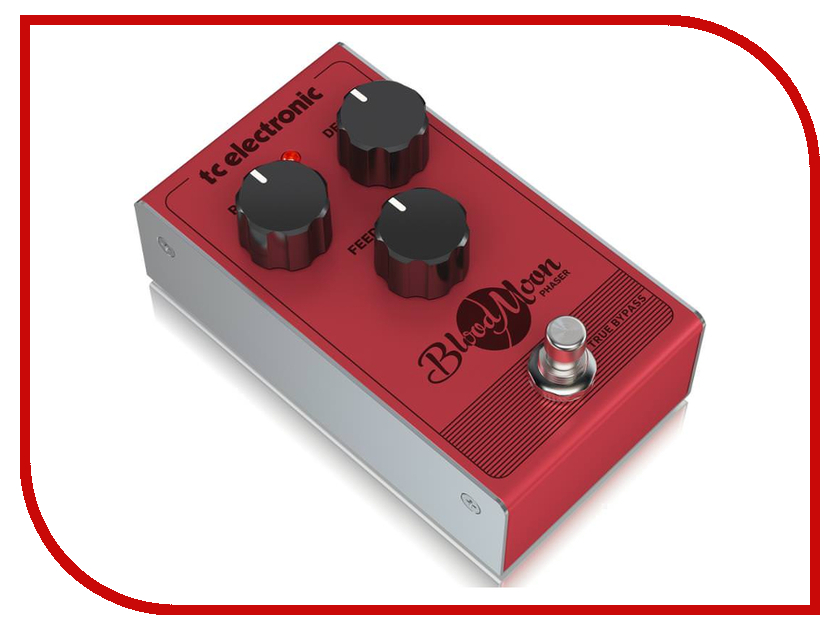 Педаль TC Electronic Blood Moon Phaser tc electronic vortex mini flanger