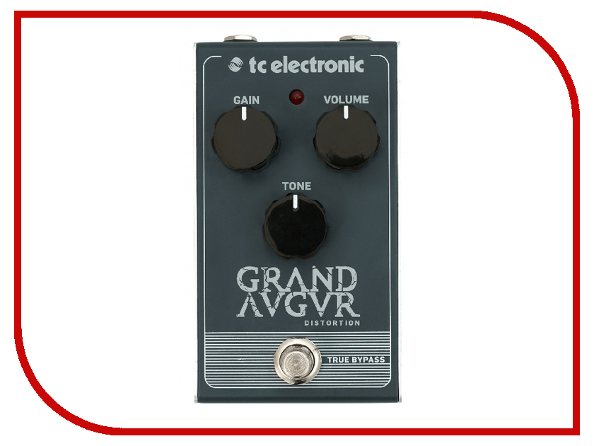 Педаль TC Electronic Grand Augur Distortion tc electronic dark matter distortion