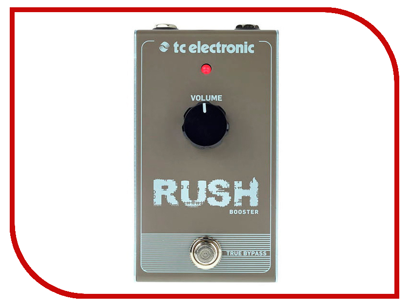 Педаль TC Electronic Rush Booster tc electronic dark matter distortion