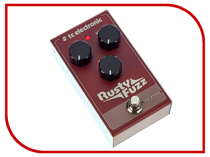 Педаль TC Electronic Rusty Fuzz бра odeon 4004 1w