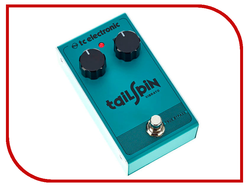 Педаль TC Electronic Tailspin Vibrato tc electronic dark matter distortion