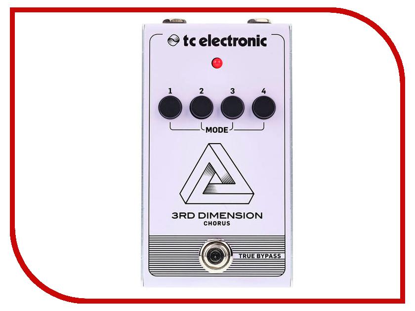 Педаль TC Electronic 3rd Dimension Chorus педаль tc electronic the dreamscape the john petrucci signature pedal