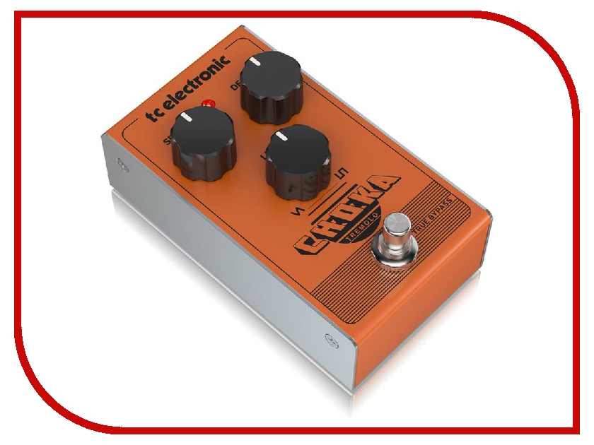 Педаль TC Electronic Choka Tremolo tc electronic dark matter distortion