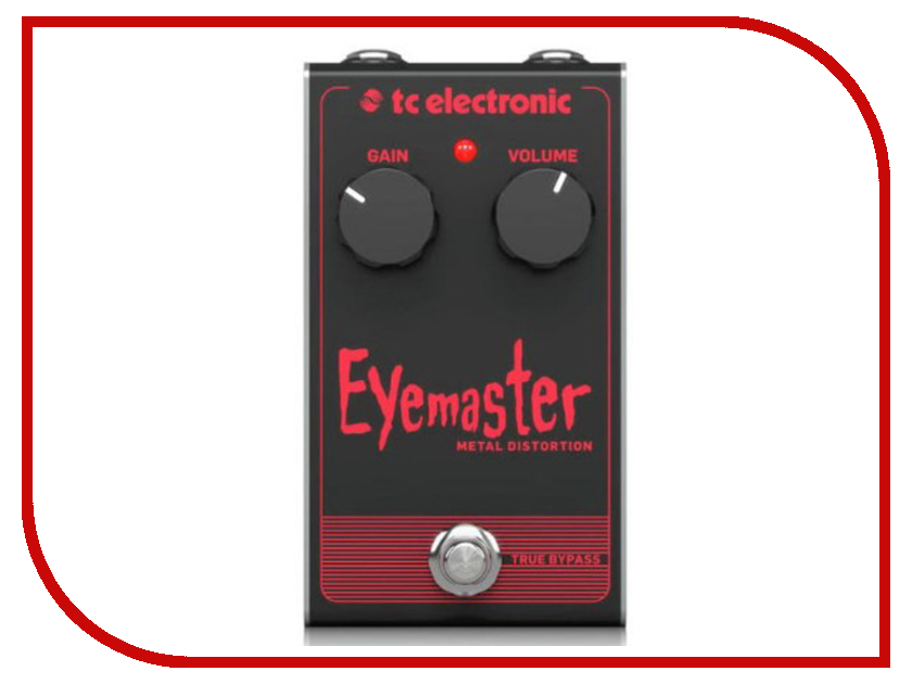 Педаль TC Electronic Eye Master Metal Distortion tc electronic dark matter distortion