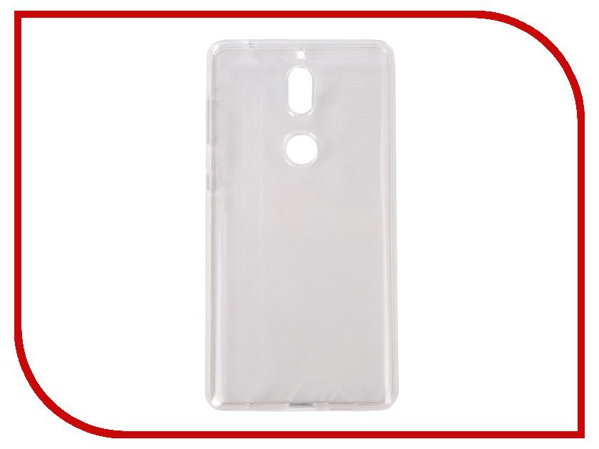 Аксессуар Чехол для Nokia 7 Pero Silicone Transparent PRSLC-N7TR аксессуар чехол для samsung galaxy a6 pero silicone transparent prslc a6tr