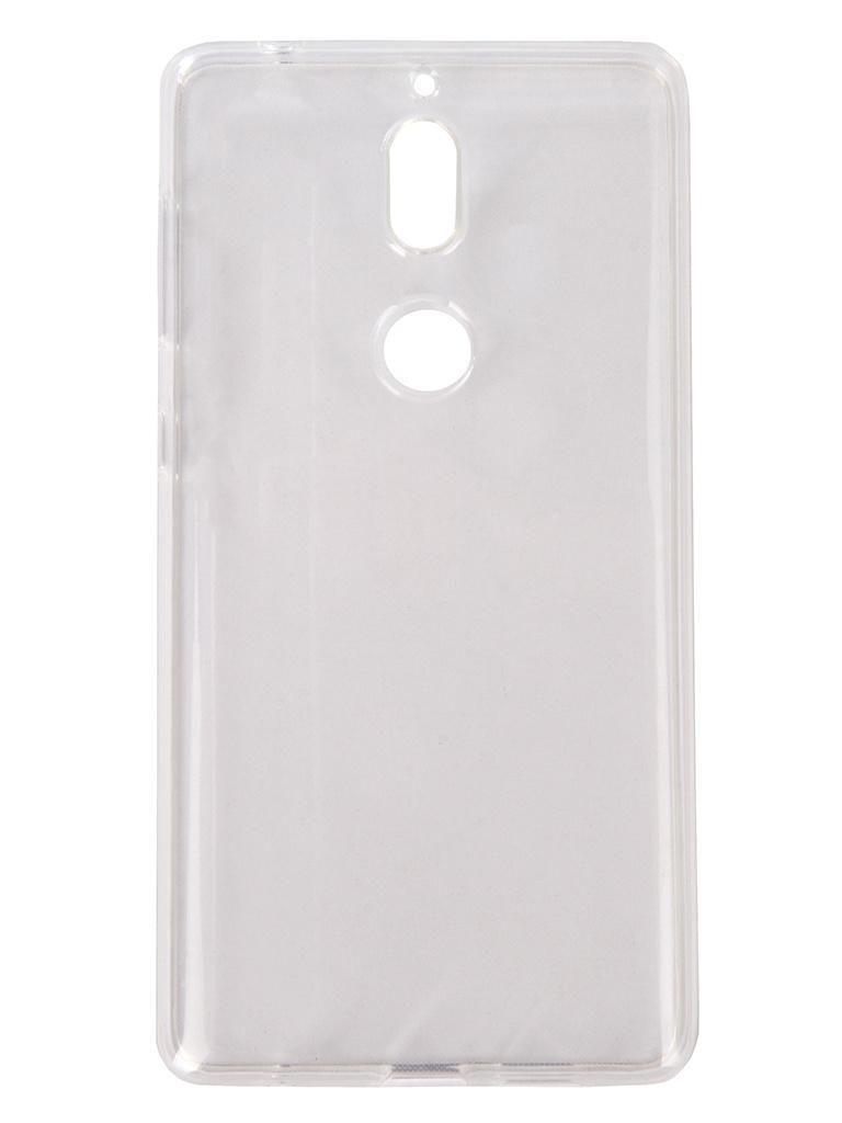 Аксессуар Чехол Pero для Nokia 7 Silicone Transparent PRSLC-N7TR