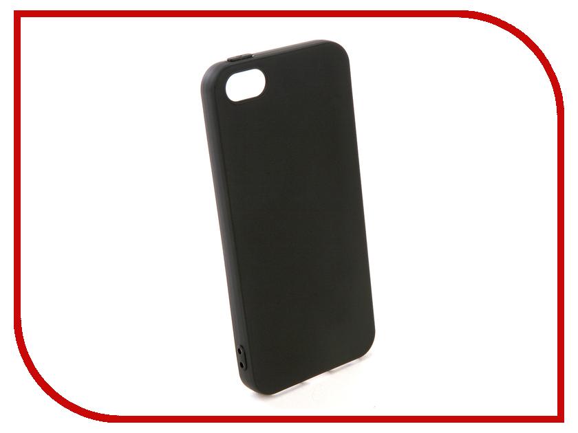 Аксессуар Чехол Pero для APPLE iPhone 5 / 5S / SE / Pero Black PRSTC-I5B шторы томдом классические шторы вольтер к цвет бирюзовый