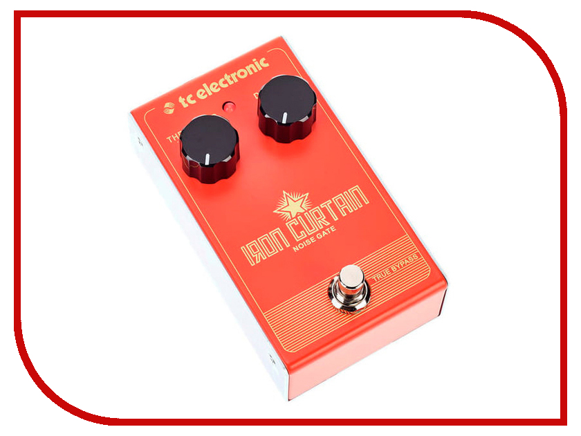 Педаль TC Electronic Iron Curtain Noise Gate tc electronic ditto x4 looper