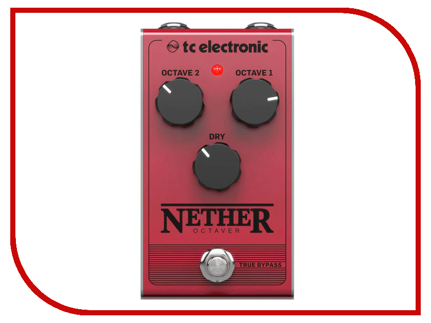 Педаль TC Electronic Nether Octaver tc electronic dark matter distortion
