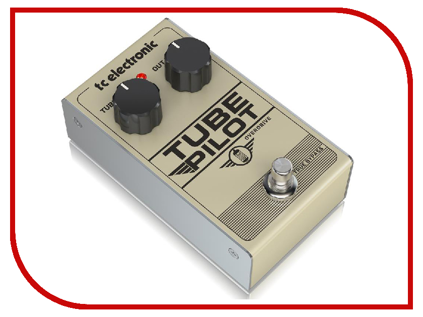 Педаль TC Electronic Tube Pilot Overdrive