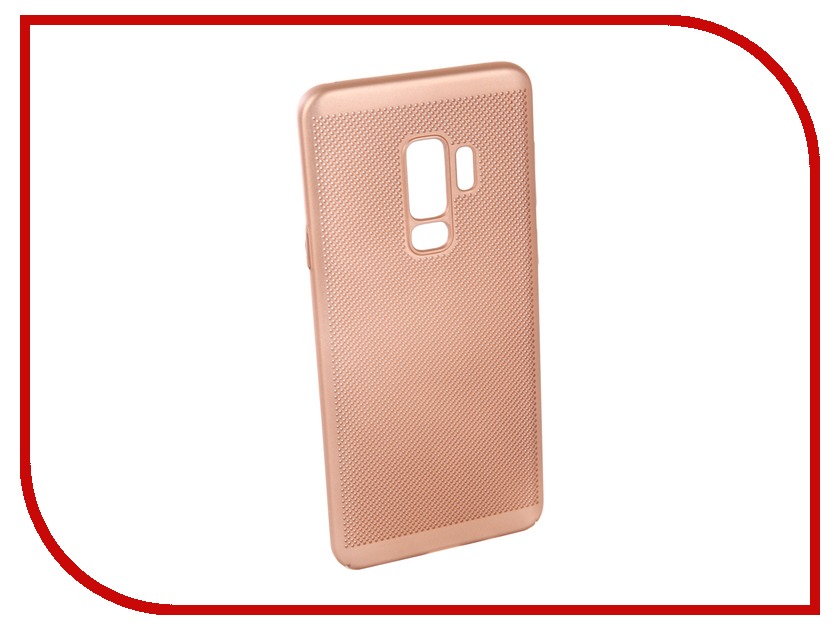 Аксессуар Чехол для Samsung Galaxy S9 Plus Neypo Soft Touch Gold ST4577 аксессуар чехол для samsung galaxy a5 2017 neypo soft matte silicone black nst0214