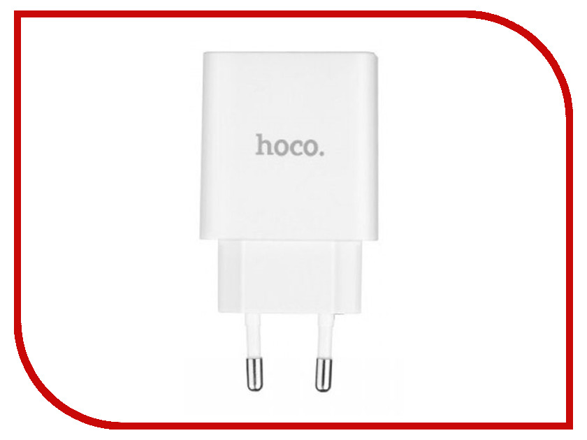 Зарядное устройство HOCO C25A Cool LED 2xUSB 4.4A White cree xhp70 cool white neutral white warm white high power led emitter 30w 6v or 12v for led scuba flashlight diver torch light