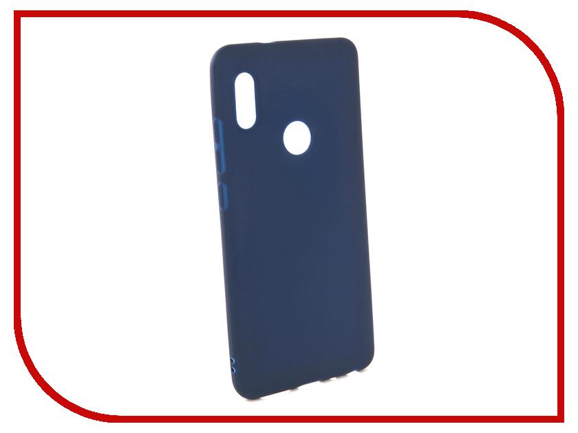 Аксессуар Чехол для Xiaomi Redmi Note 5 Pro Neypo Soft Matte Silicone Dark Blue NST4310 mooncase s line soft flexible silicone gel tpu skin shell back чехолдля htc one m9 blue