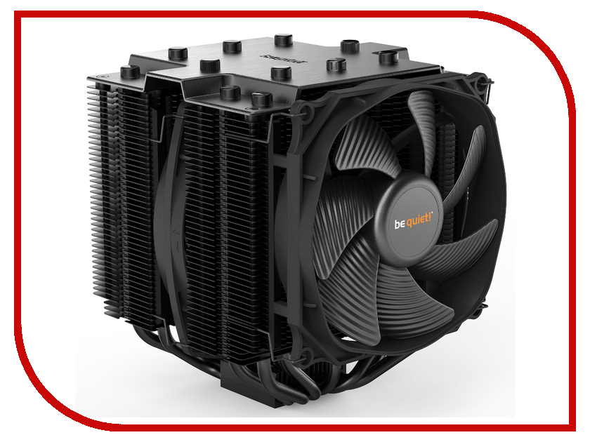 Кулер Be Quiet Cooler Dark Rock Pro 4 TDP 250W all sockets BK022 apf97331bx b00c s99 dc12v 3 5a 90 90 32mm ultra quiet humidifier turbo cooler cooling fan
