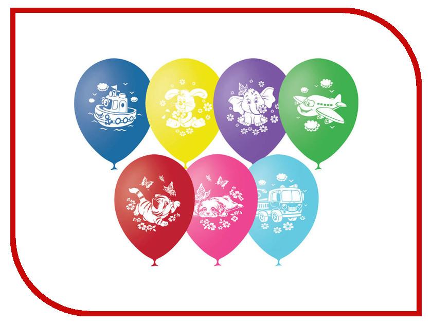 Набор воздушных шаров ПОИСК Детская тематика 30cm 50шт 4690296041120 поиск