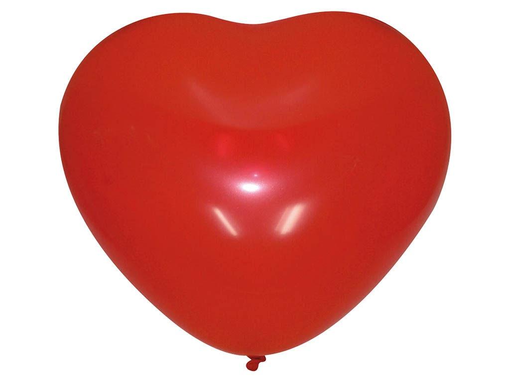 Набор воздушных шаров Поиск Сердце 25cm 50шт Red 4690296042974