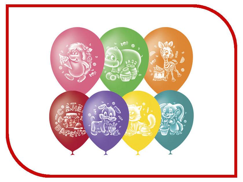 Набор воздушных шаров ПОИСК С Днем Варенья 25cm 50шт 4690296048792 поиск