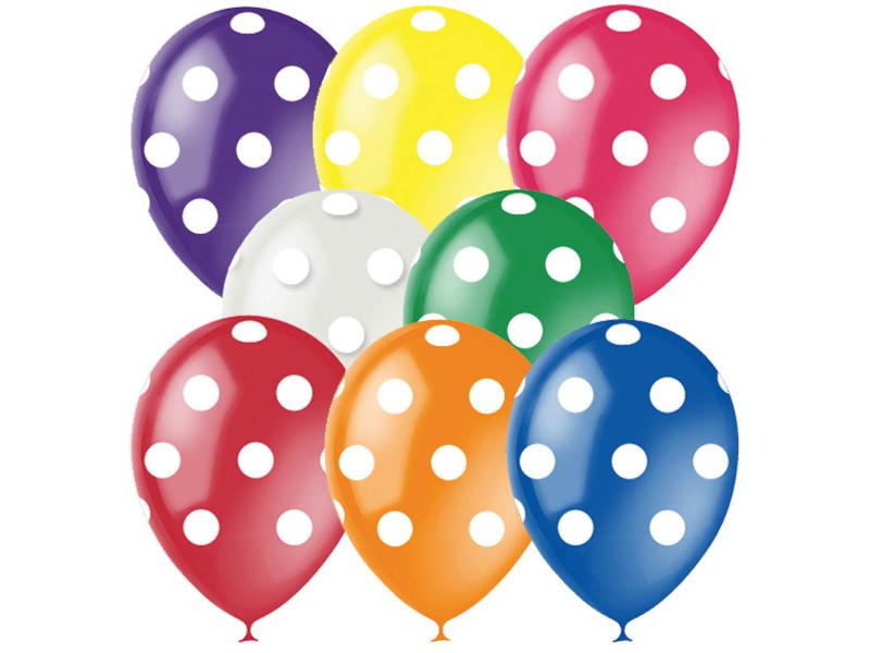 Набор воздушных шаров Поиск Горошек 30cm 25шт 4690296041410