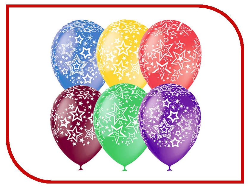 Набор воздушных шаров Поиск Звезды 30cm 25шт 4690296040994 набор воздушных шаров поиск горошек 30cm 25шт black white 6 053 895