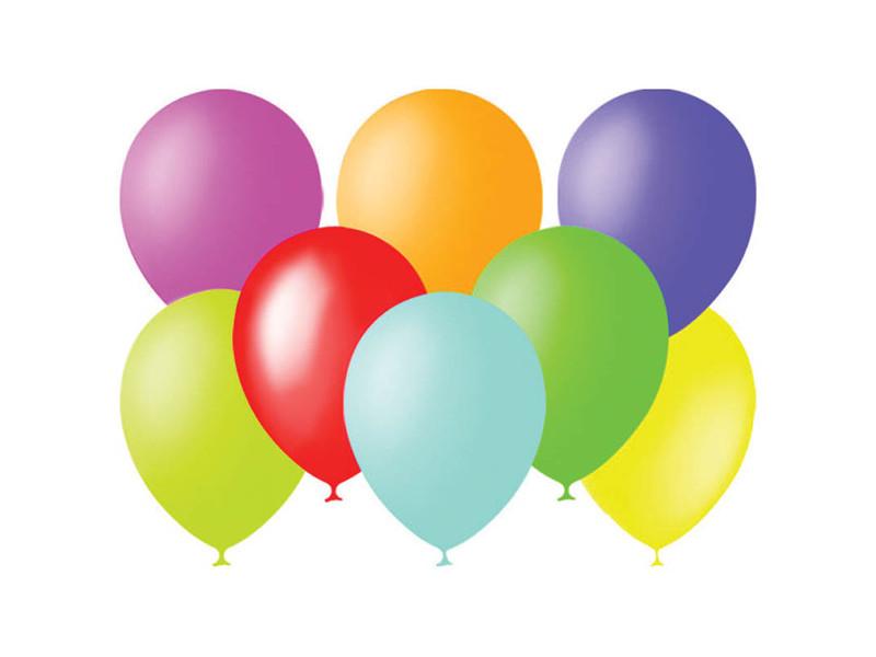 Набор воздушных шаров Поиск 23cm 100шт 4607028760365
