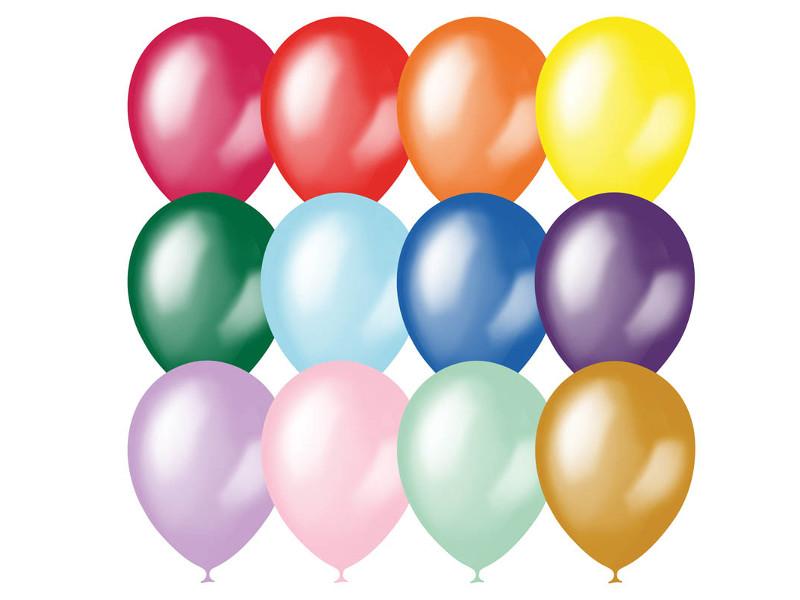 Набор воздушных шаров Поиск 23cm 100шт 4607028760358