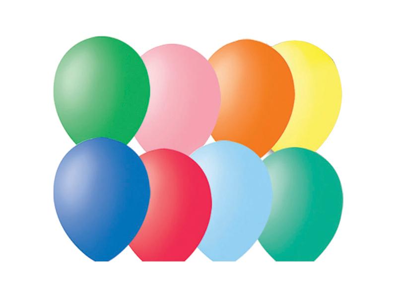 Набор воздушных шаров Поиск 30cm 100шт 4607028761492