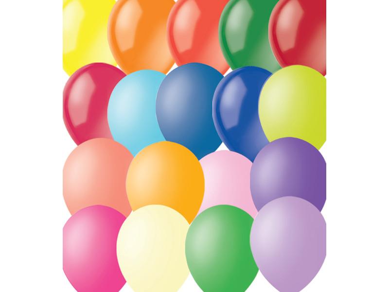 Набор воздушных шаров Поиск 23cm 100шт 4607028763298