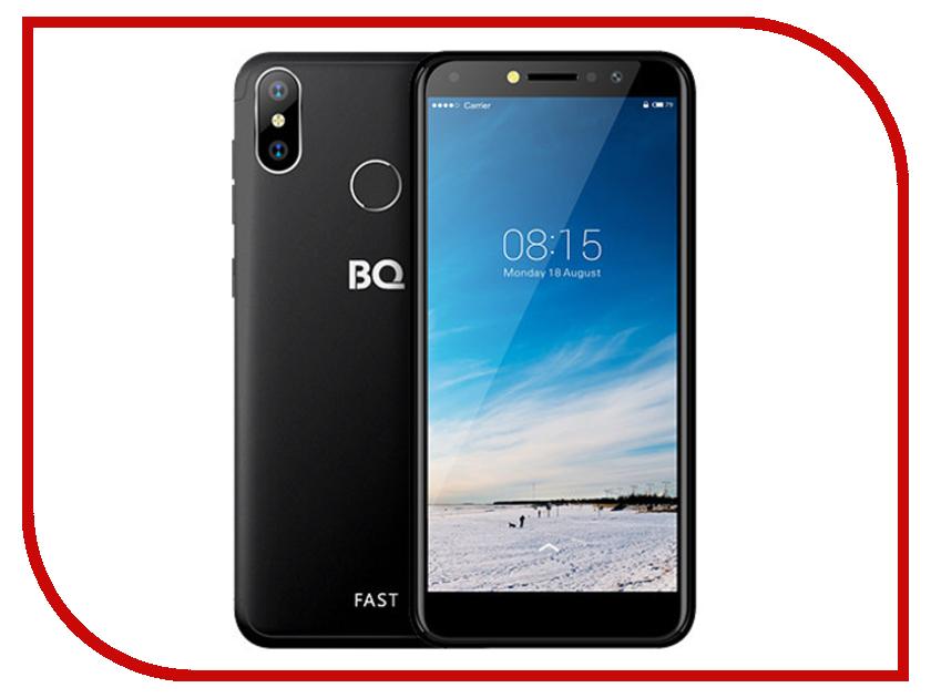 Сотовый телефон BQ 5515L Fast Black смартфон bq mobile bq 5515l fast dark blue