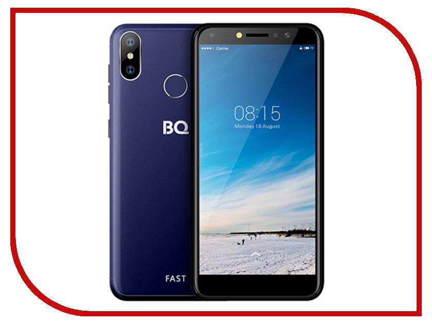 Сотовый телефон BQ 5515L Fast Dark Blue смартфон bq mobile bq 5515l fast dark blue
