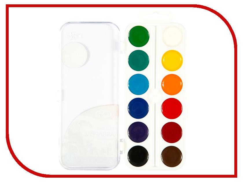 Акварель Гамма Классическая 12 цветов 216019 акварель гамма юный художник 8 цветов