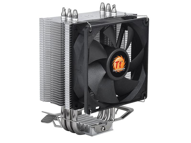 Кулер Thermaltake Contac 9 CL-P049-AL09BL-A (Intel LGA 1366/1156/1155/1151/1150/775 / AMD AM4/FM2/FM1/AM3+/AM3/AM2+/AM2) кулер для процессора id cooling se 214 socket 775 1150 1151 1155 1156 am2 am2 am3 am3 fm1 fm2 fm2