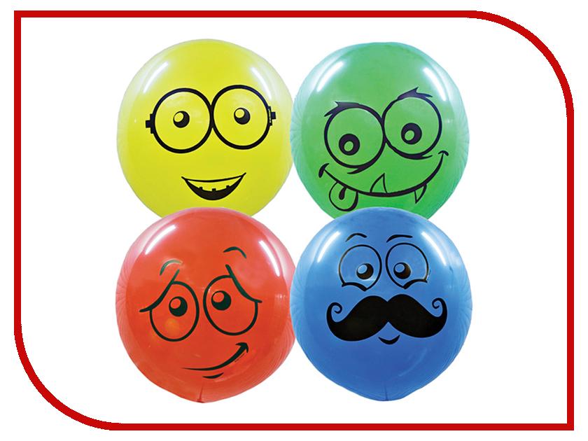 Набор воздушных шаров ПОИСК Улыбки 61cm 4шт 6 054 045 поиск