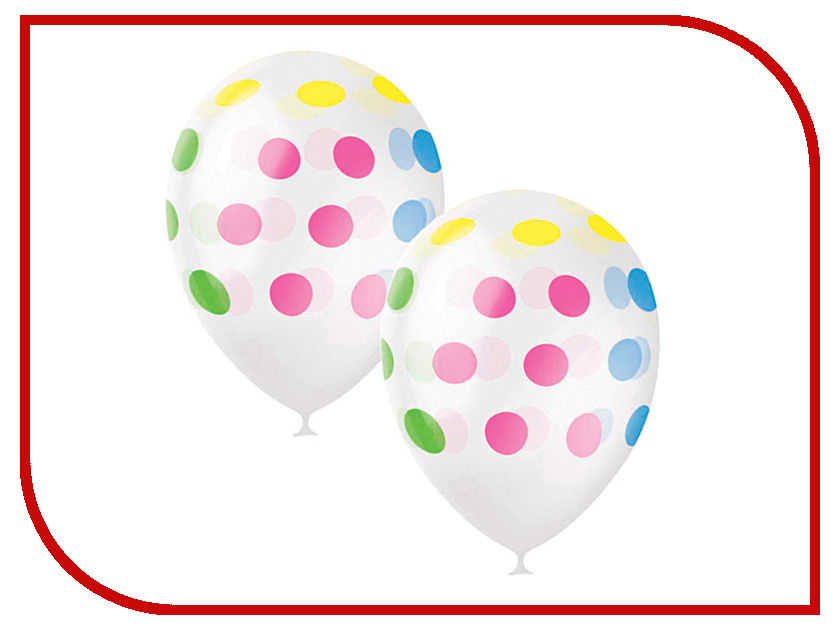 Набор воздушных шаров Поиск Горошек 30cm 25шт Colorful 6 054 281 петля edelrid edelrid aramid cord 6 мм 30cm