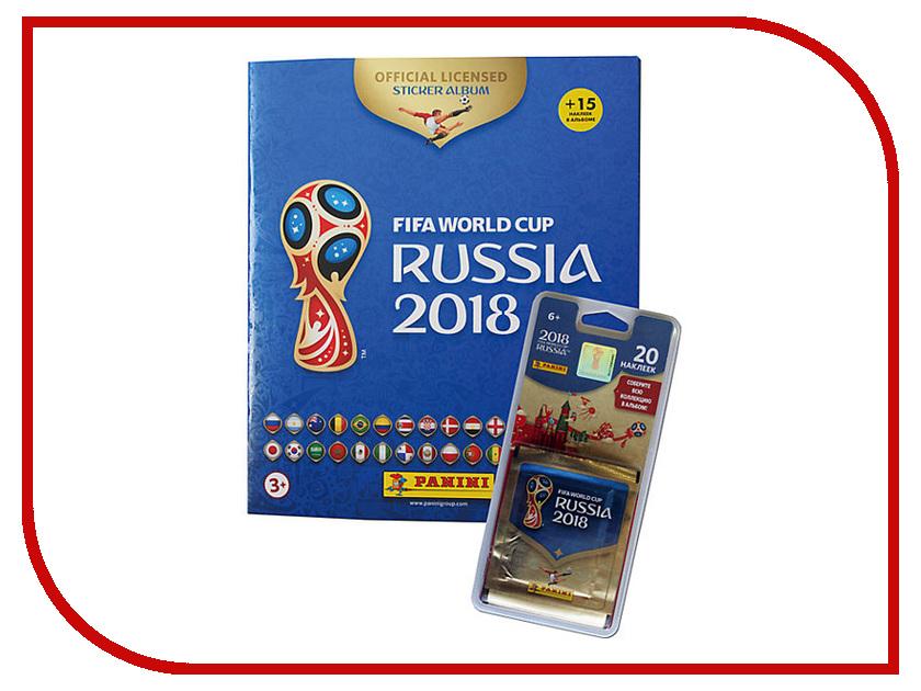 Набор Альбом с блистером Panini Чемпионат Мира По Футболу FIFA 2018